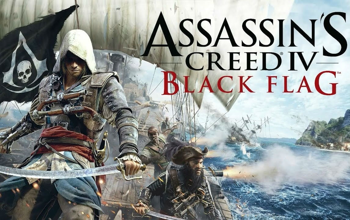 Обложка игры Assassin's Creed 4: Black Flag