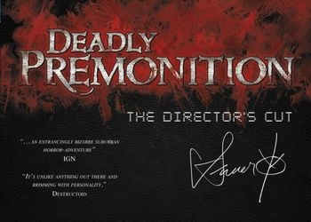 Обложка игры Deadly Premonition: The Director's Cut