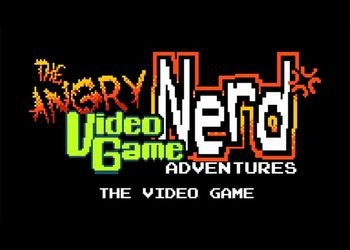 Обложка игры Angry Video Game Nerd Adventures