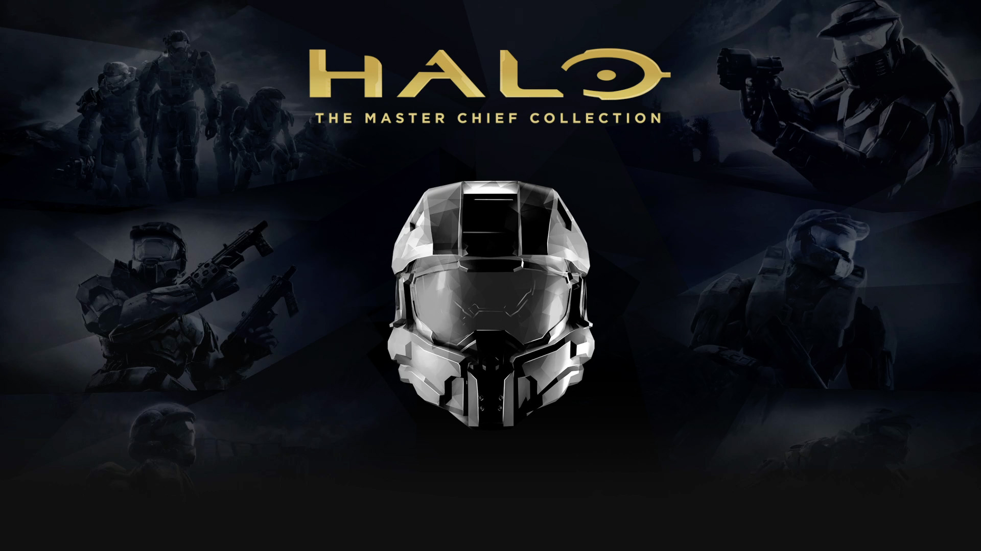 Обложка игры Halo: The Master Chief Collection
