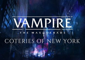 Обложка игры Vampire: The Masquerade - Coteries of New York