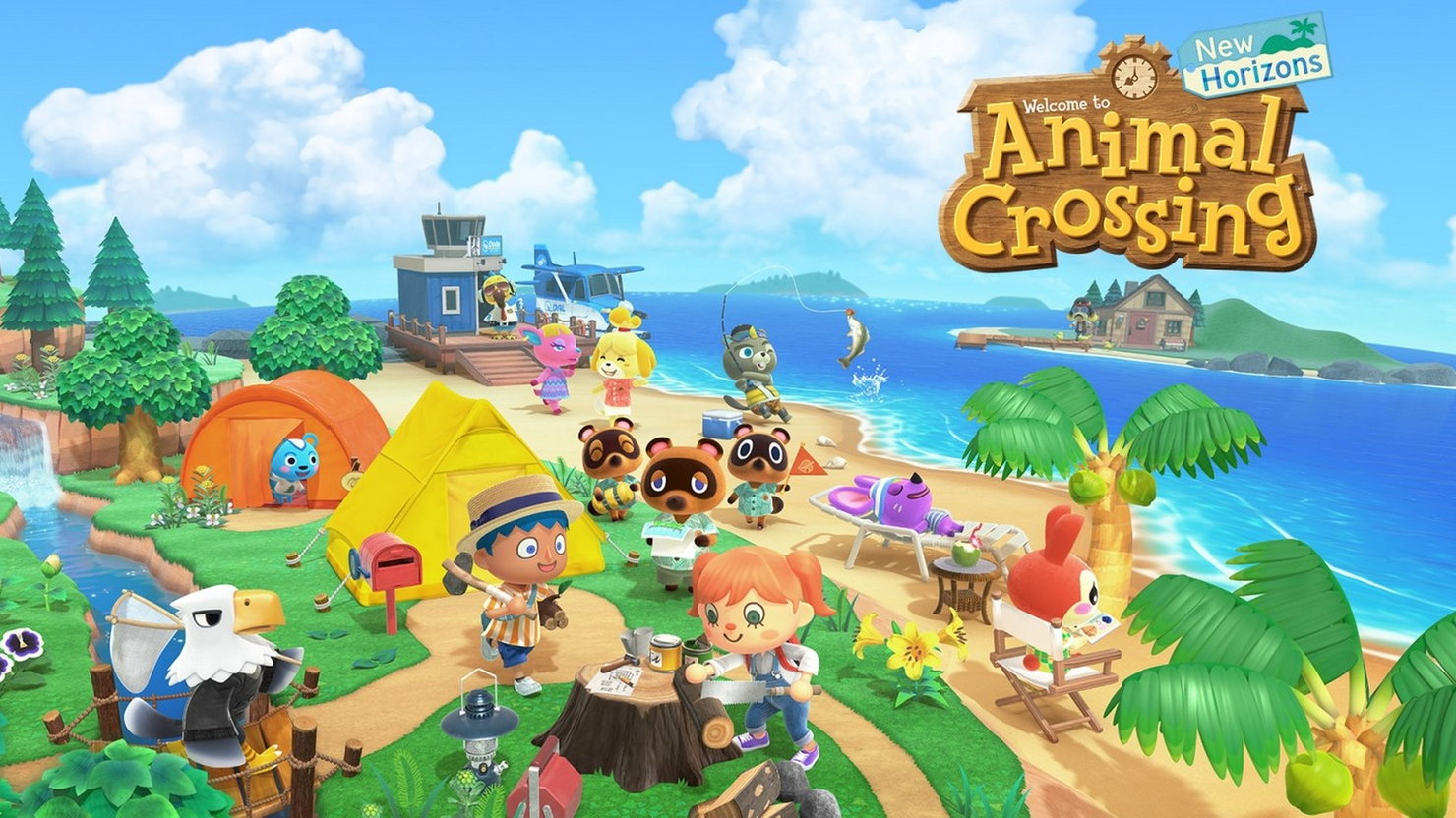 Трейлер игры Animal Crossing: New Horizons