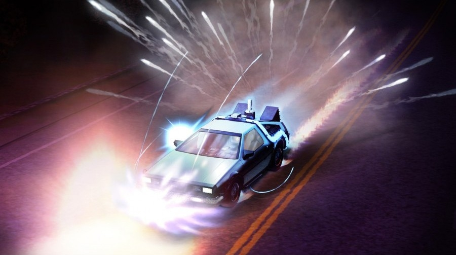 Скриншот из игры Back to the Future: The Game Episode 1. It