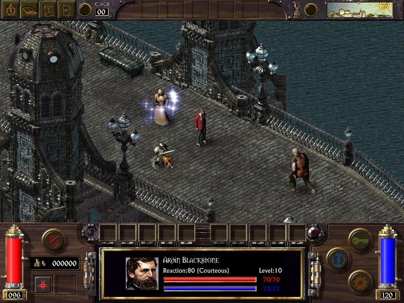 Скриншот из игры Arcanum: Of Steamworks and Magick Obscura под номером 13