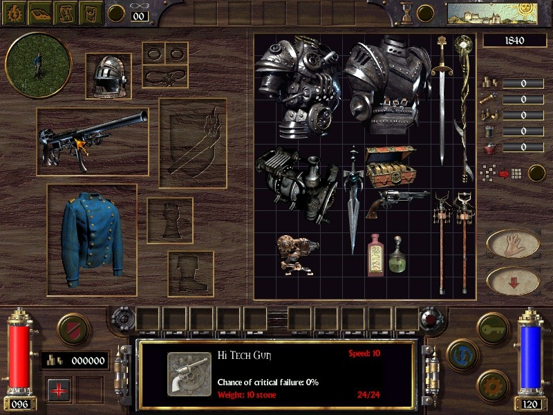 Скриншот из игры Arcanum: Of Steamworks and Magick Obscura под номером 14