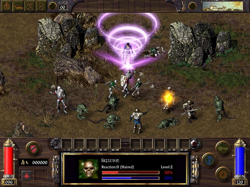 Скриншот из игры Arcanum: Of Steamworks and Magick Obscura под номером 15
