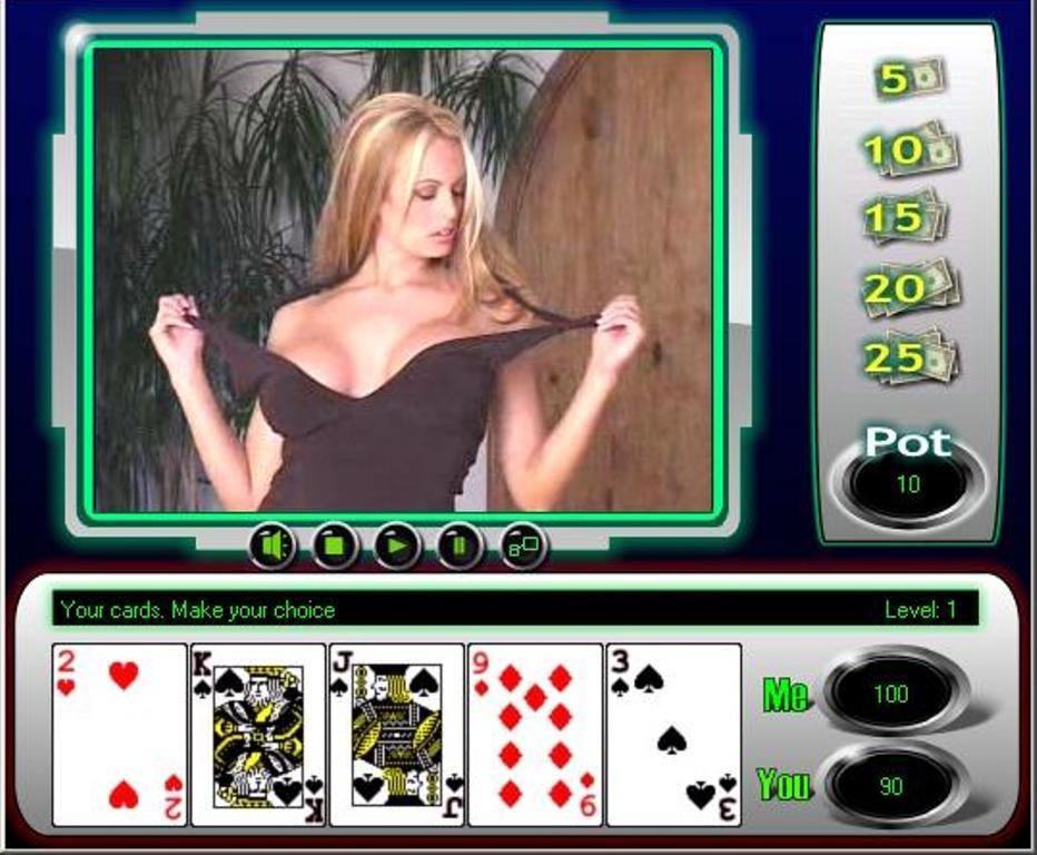 Watch strip poker games