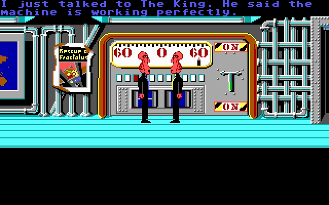 Скриншот из игры Zak McKracken and the Alien Mindbenders под номером 3