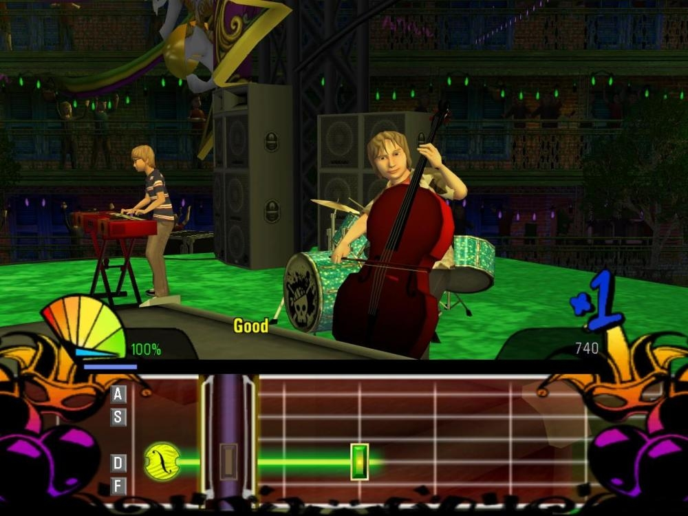 Скриншот из игры Naked Brothers Band: The Video Game, The под номером 22