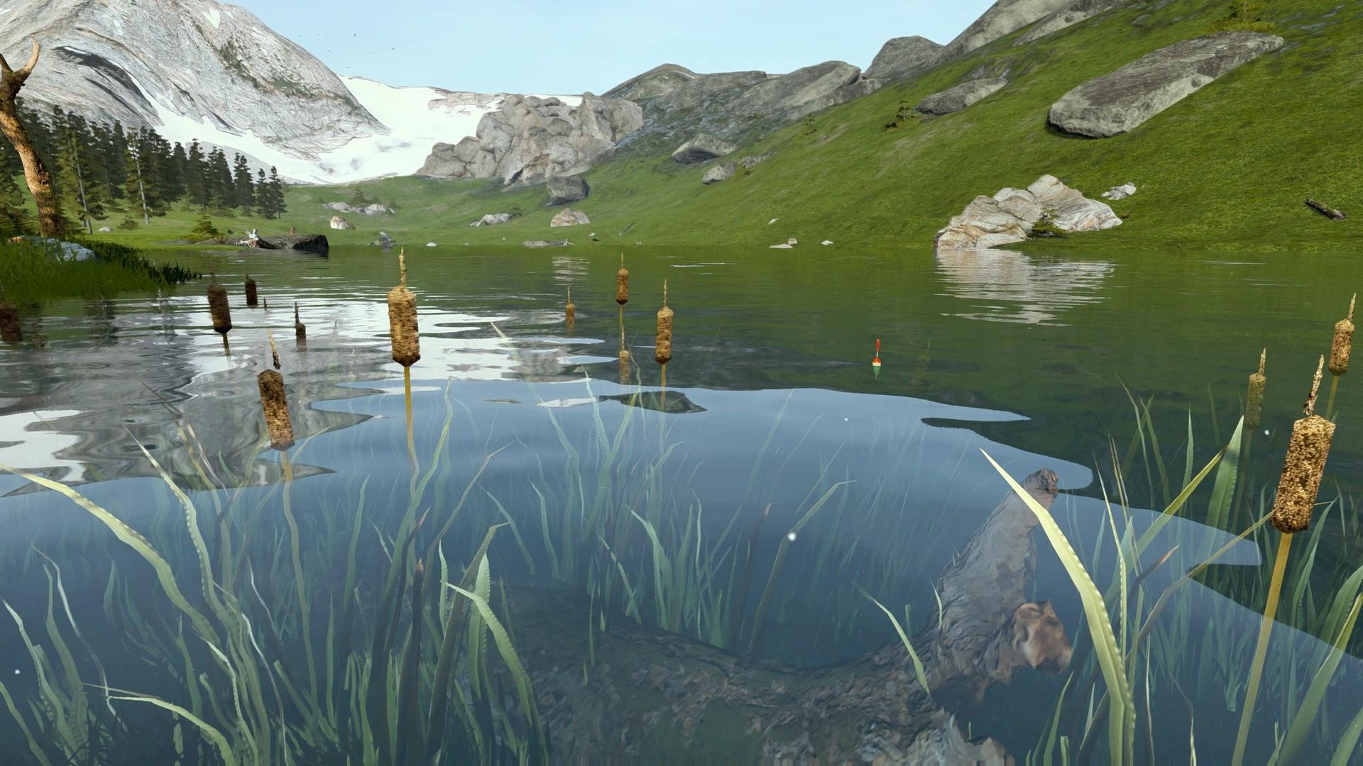 Рыбалка с открытым миром