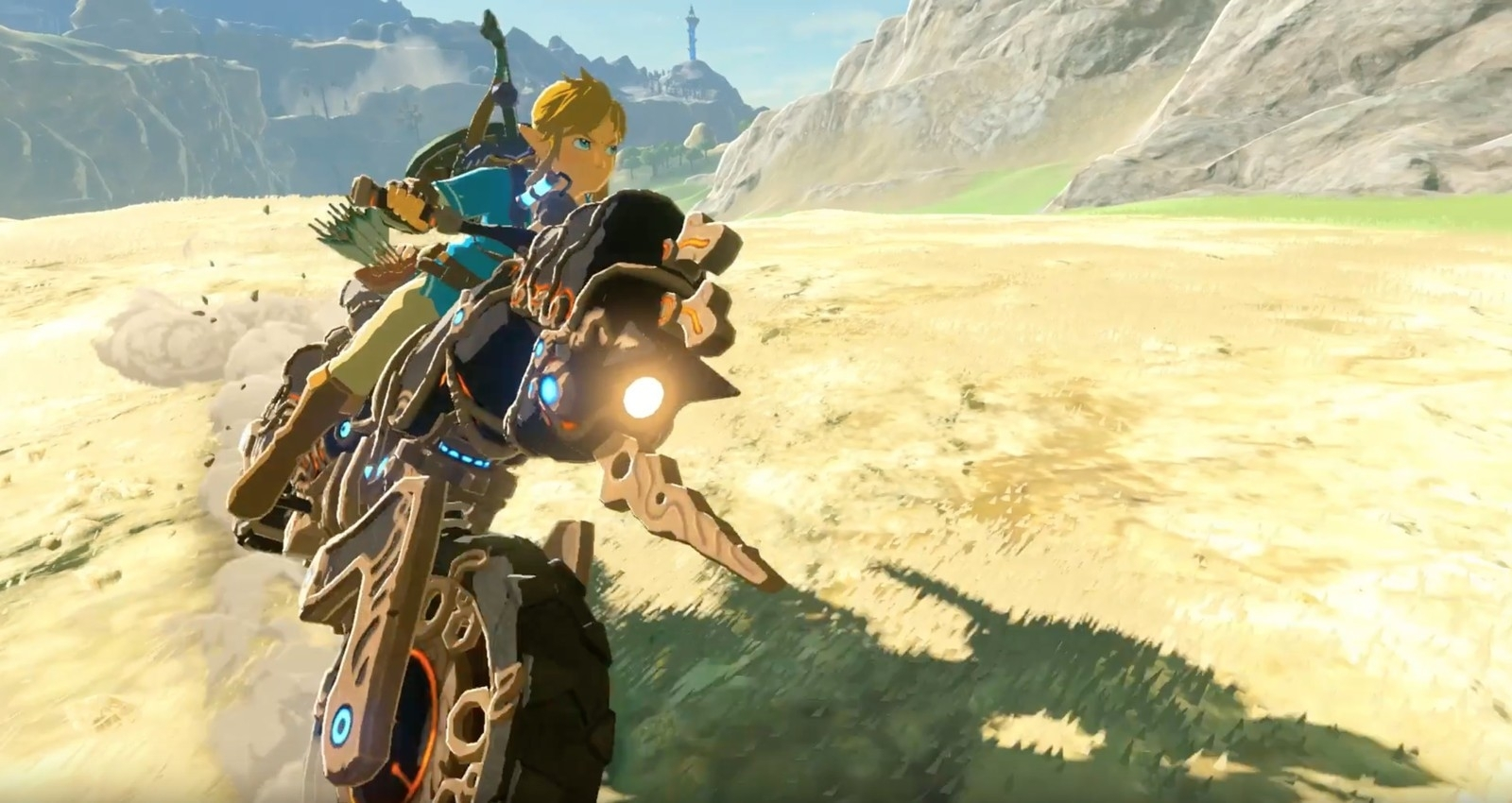 Скриншот из игры Legend of Zelda: Breath of the Wild, The - Expansion Pass под номером 2