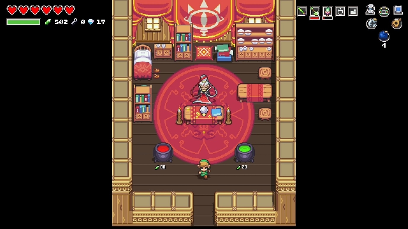 Скриншот из игры Cadence of Hyrule: Crypt of the NecroDancer featuring The Legend of Zelda под номером 1