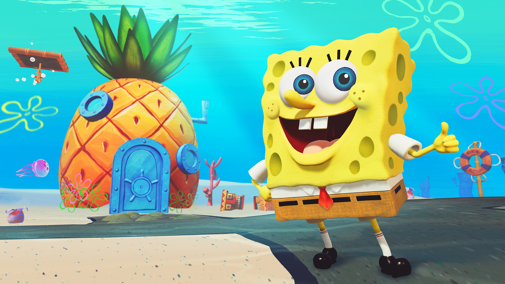 Скриншот из игры SpongeBob SquarePants: Battle for Bikini Bottom - Rehydrated под номером 2