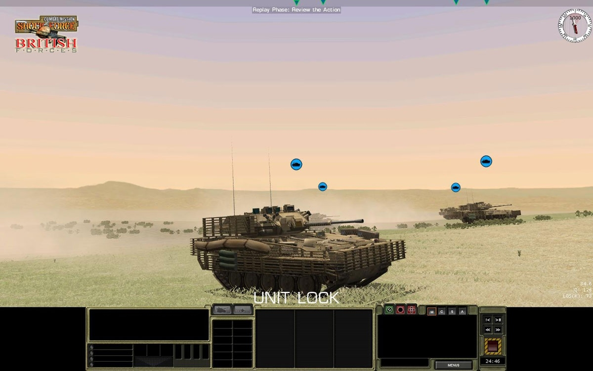 Скриншот из игры Combat Mission: Shock Force British Forces под номером 14