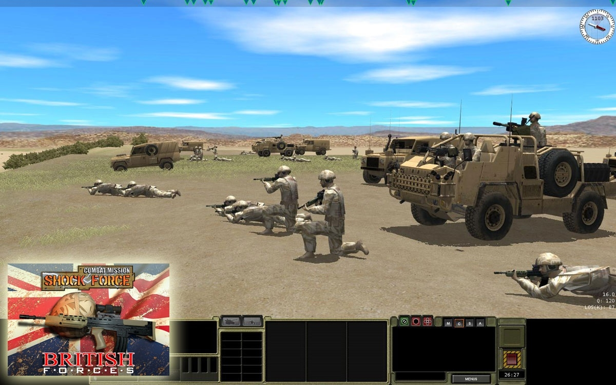 Скриншот из игры Combat Mission: Shock Force British Forces под номером 27