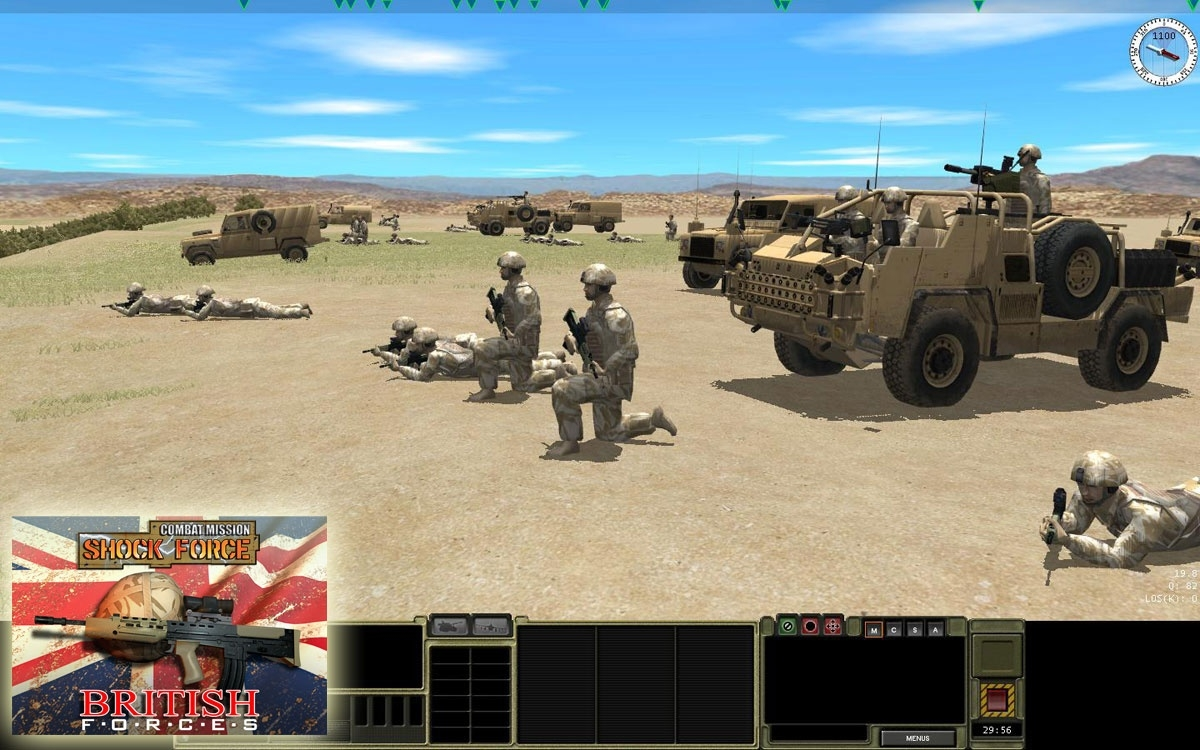 Скриншот из игры Combat Mission: Shock Force British Forces под номером 29