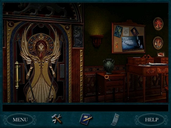 Скриншот из игры Nancy Drew: The Curse of Blackmoor Manor
