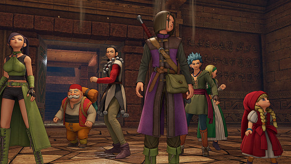 Скриншот из игры Dragon Quest 11: Echoes of an Elusive Age