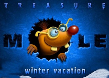 Обложка к игре Treasure Mole: Winter Vacation