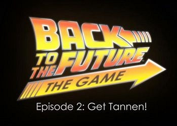 Обложка к игре Back to the Future: The Game Episode 2. Get Tannen