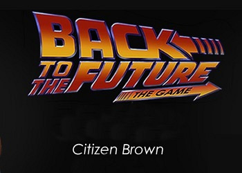 Обложка к игре Back to the Future: The Game Episode 3. Citizen Brown