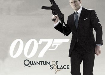 Обложка к игре Quantum of Solace: The Game