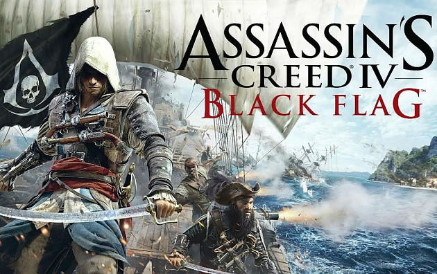 Обложка к игре Assassin's Creed 4: Black Flag