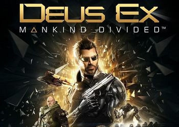 Обложка игры Deus Ex: Mankind Divided