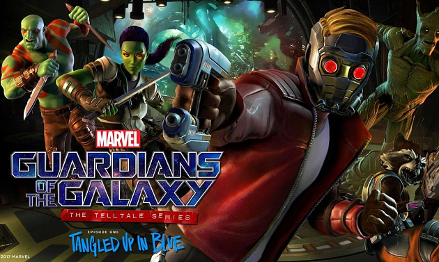 Обложка для игры Marvel's Guardians of the Galaxy - Episode 1: Tangled Up in Blue