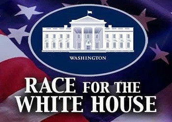 Обложка для игры Race for the White House, The