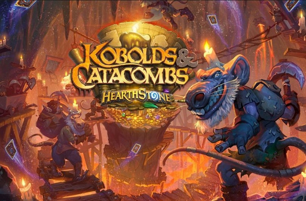 Обложка к игре Hearthstone: Kobolds and Catacombs