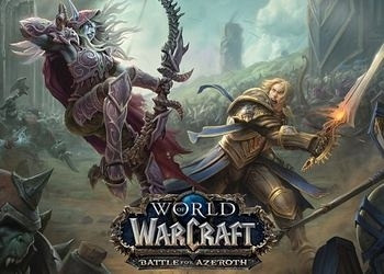 Обложка для игры World of WarCraft: Battle for Azeroth