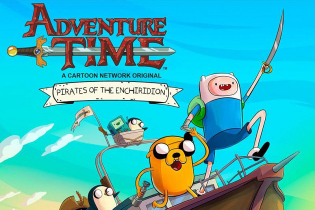 Обложка к игре Adventure Time: Pirates of the Enchiridion