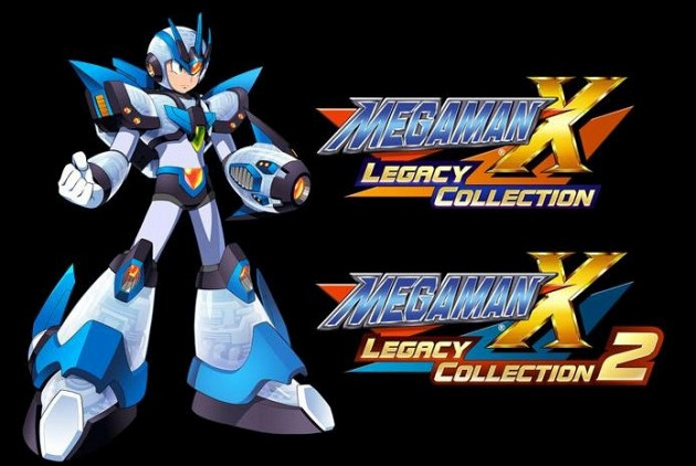 Обложка к игре Mega Man X Legacy Collection 1 + 2