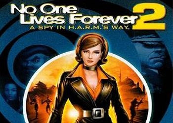 Обложка для игры No One Lives Forever 2: A Spy in H.A.R.M.'s Way