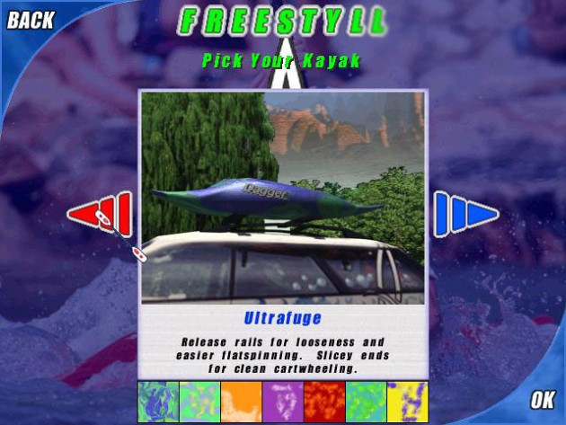 Обложка игры Dagger Whitewater Rapids