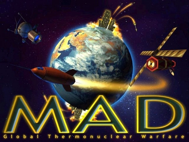 Обложка игры M.A.D Mutually Assured Destruction