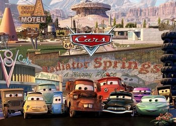 Обложка для игры Cars: Radiator Springs Adventures