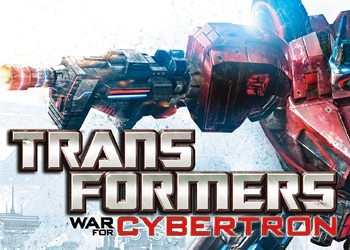 Обложка для игры Transformers: War for Cybertron
