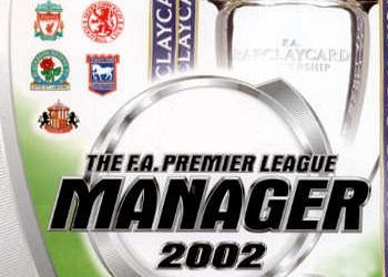 Обложка для игры F.A. Premier League Football Manager 2002