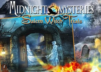 Обложка для игры Midnight Mysteries: Salem Witch Trials