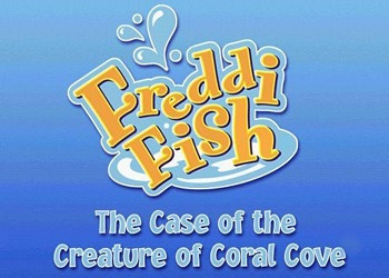 Обложка для игры Freddi Fish 5: The Case of the Creature of Coral Cove