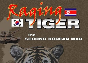 Обложка для игры Raging Tiger: The Second Korean War