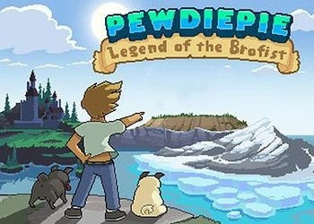 Обложка игры PewDiePie: Legend of the Brofist