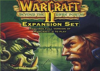 Обложка для игры Warcraft 2: Beyond the Dark Portal