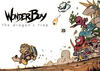 Обложка игры Wonder Boy: The Dragon's Trap