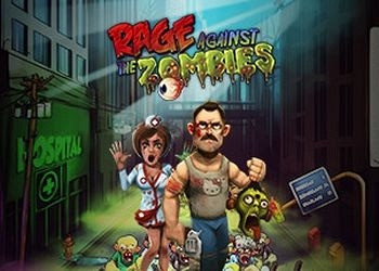 Обложка игры Rage Against The Zombies