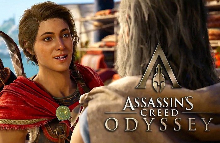 Обложка игры Assassin's Creed: Odyssey