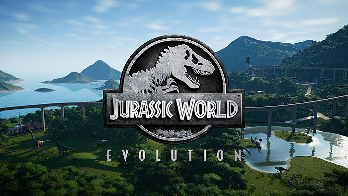 Обложка игры Jurassic World Evolution