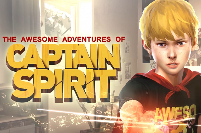 Обложка для игры Awesome Adventures of Captain Spirit, The